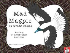 "NAIDOC Week ""Mad Magpie"" by Gregg Dreise - reading comprehension activities World History Teaching, World History Lessons, Reading Comprehension Activities, Book Activities, Aboriginal Education, Narrative Story, Middle School Counseling, Teacher Notes, Australian Animals"