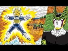 7 viên ngọc rồng siêu cấp | Vegeta Bắn Final Flash Nát Người Cell - Trun