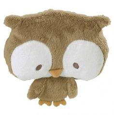 El cojín-peluche más achuchable nunca visto :), sirva como idea para un DIY, porque ya no está a la venta • Owl Boo Boo Friend