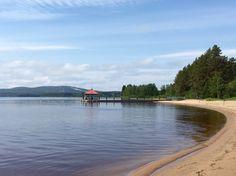 Hiukka Beach, Sotkamo, Finland. Photo: Mauri Kuorilehto (21.6.2015).
