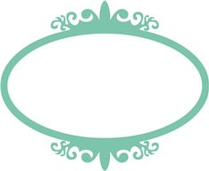 Antique oval frame------------------Silhouette Online Store - View Design #23376: antique oval frame