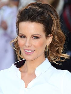 25 Photos That Prove Kate Beckinsale Is the Ultimate Ponytail Icon | People