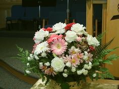 PT NAMPA IDAHO SEVENTH DAY ADVENTIST CHURCH FLOWERS. MAY 15