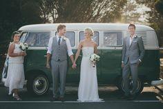 Kombi Wedding  http://kombicelebrations.com.au  http://www.sheerimage.com.au/ Amanda Garrett Dress both bride & brides maid.