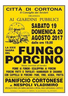 Questo fine settimana vieni a Cortona per la Sagra del Fungo Porcino! This week-end come to Cortona for the Porcini Mashroom Festival! #hotelitaliacortona #sagra #fungoporcino #cortona #buonappetito #tuscany
