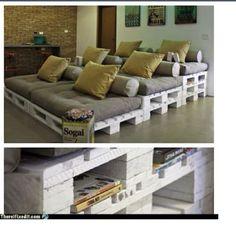 Pallets Sofa !