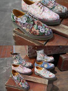 Dr. Martens Men's Footwear Spring Summer 2012 New Fashion Boots for Summer
