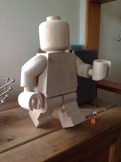 "Cool. ""Wooden lego man walking"" by Ragskin (deviantART)."