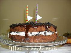 Oreos cake - receita em português