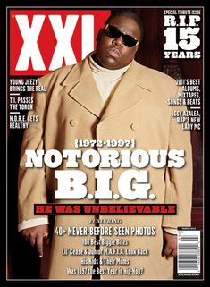 "XXL Magazine ""NOTORIOUS B.I.G."" 15 year death anniversary cover. #Hiphop #Music #Culture"