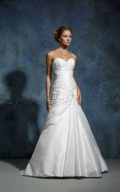 für großes Bild wälzen      Weißes A-linie Bodenlanges Herzförmiger Ausschnitt Kleid