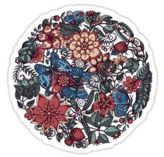Circle of Friends in Colour by micklyn #sticker #illustration