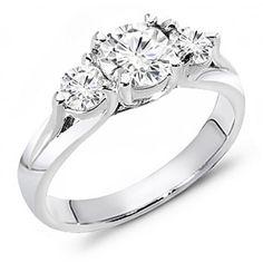 Three Stone Diamond Ring 1.15 ct. tw.