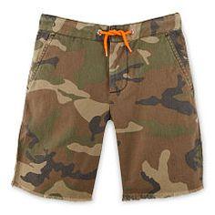Camo Cotton Canvas Short - Boys 2-7 Pants & Shorts - RalphLauren.com