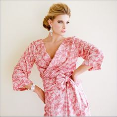 Ankle Length Scoop Back Robe Lovely No. 1