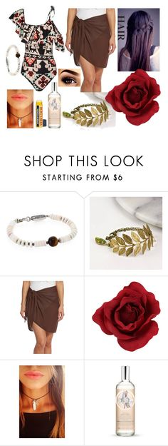 """No Title #121"" by emily102901 ❤ liked on Polyvore featuring King Baby Studio, Gama, Dotti, ADRIANA DEGREAS, Diamond in The Sky and The Body Shop"