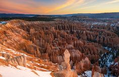 Bryce Canyon Amphitheater, Utah, USA - www.fischerfotografie.nl/Getty Images