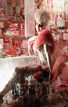 bergdorf windows 2013 -valentines