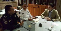 El objetivo del encuentro fue buscar la mejor coordinación entre el municipio y la División de Gendarmería de la Policía Federal, así como también con el estado en materia de ...