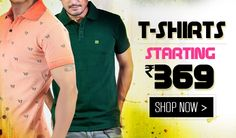 Men looks Trendy And Fashionable with T-Shirts. T-shirts can be worn casually over a pair of shorts, jeans, semi-formally over Trouser with a sports jacket thrown over it. We are offering a wide collection of t-shirts like Polo neck t-shirts, Round neck t-shirts, Henley neck t-shirts and many more. To buy Stylish and Trendy men t-shirts at low price , just click : http://www.ebazar.ninja/browse/t-shirts-polos