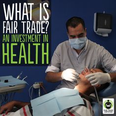 Did you know #FairTrade helps enable access to lifesaving #healthcare? Repin for socially #sustainable products! Learn more at http://fairtrd.us/1azl9rd