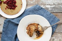 Nutrition Stripped | Vanilla Bean Banana Crepes | http://www.nutritionstripped.com
