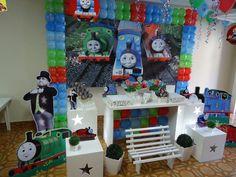 como decorar una casa con tematica de thomas and friends - Buscar con Google
