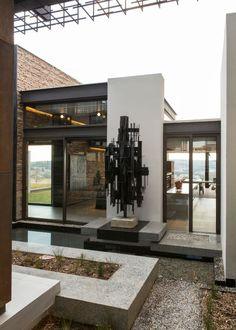 House Boz | Atrium | Nico van der Meulen Architects | M Square Lifestyle Design | M Square Lifestyle Necessities | #Contemporary #Architecture #Design #Spring #Outside