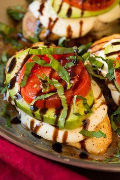 Avocado Caprese Skillet Chicken - Cooking Classy: