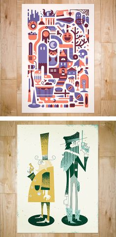 Art Prints by Bandito Design Co. | Inspiration Grid | Design Inspiration