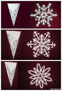 Wow paper snowflakes