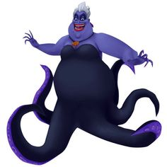 Ursula ❤ liked on Polyvore featuring disney, kingdom hearts, character, the little mermaid and ursula