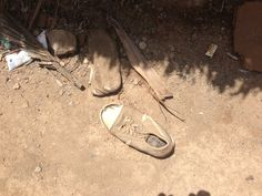 An example of a shoe replaced by the Tom's One for One program.   #toms #guatemala #oneforone #buffalopeak