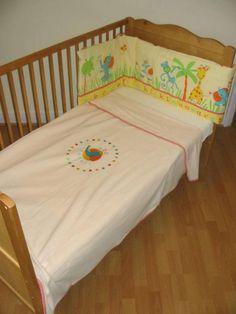 Izziwotnot ABC Safari Cot Bed Fleece Blanket