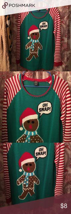 Zumiez Christmas sweater. Size M. Zumiez Christmas sweater. Size M. Only worn twice. In great condition. Light weight sweater. Zumiez Sweaters Crew & Scoop Necks