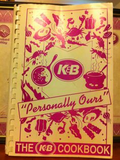 K&B employee cookbook