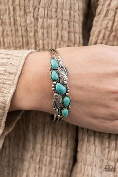 Cottage Living Blue Paparazzi Accessories Bracelet Paparazzi Accessories, Paparazzi Jewelry, Fashion Accessories, Fashion Jewelry, Paparazzi Fashion, Antique Frames, Trendy Collection, Jewelry Show, Silver Cuff