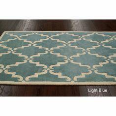 NuLOOM Handmade Luna Marrakesh Trellis Wool Rug 76 X 96 By Nuloom Dining Room