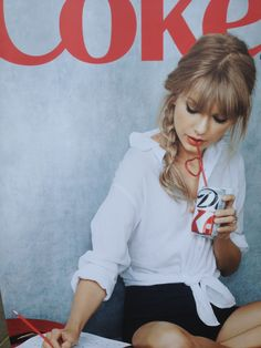 Taylor Swift + Diet Coke= awesome!