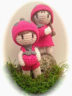 Galna i Garn, raspberry-children
