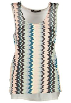 TREND - what to wear with a Palazzo Pant in Paris? > Supertrash - TIMER - Top - zig zag all the way!