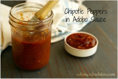 Chipotle Peppers in Adobo Sauce from Scratch - Rubies & Radishes