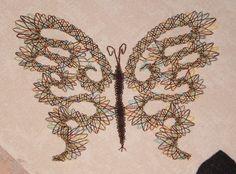 papillon terminé et prêt à s'envoler!