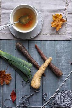 Bouillon de légumes d'hiver