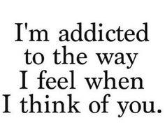 'I'm addicted to the way I feel when think of you'  Dat heerlijke gevoel van vlinders in je buik. Weet jij nog wie je allereerste vriendje was?