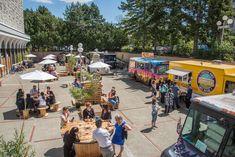 Outdoor Food Truck Fest Night Google Search Food Truck Eventos Praca De Alimentacao