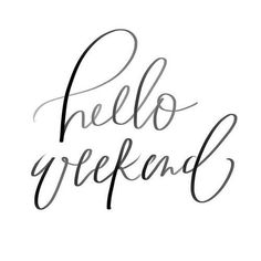 Hope you all have a Fabulous weekend  by yourwellnessbox