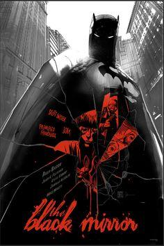 "Collection of Batman Art for Mondo's ""75 Years of Batman"" Art Show"