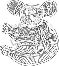 aboriginal animal templates - Google Search