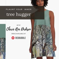 'Proliferation (Tree of Life Series)' A-Line Dress by Cherie Roe Dirksen Gifts For Teens, Gifts For Her, Great Gifts, Gorgeous Dress, Tree Of Life, Line, Designer Dresses, Chiffon Tops, Gift Ideas